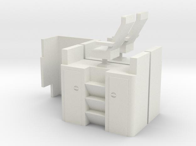 Atlas Standard Vision Caboose Cupola Interior shor in White Natural Versatile Plastic
