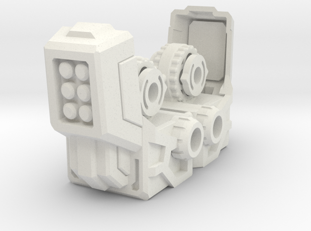 Lavi Combiner Knees 2 of 2 in White Strong & Flexible