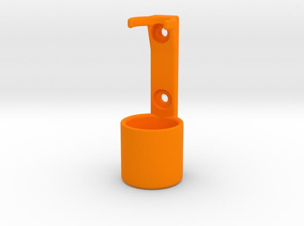 Torch holster for LED Lenser P6 or similar in Orange Strong & Flexible Polished