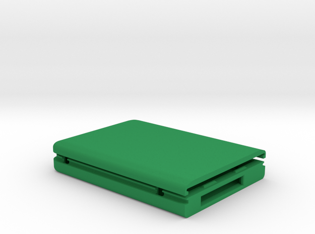 """USM compatible storage enclosure for 2.5"""" hard dri in Green Strong & Flexible Polished"""