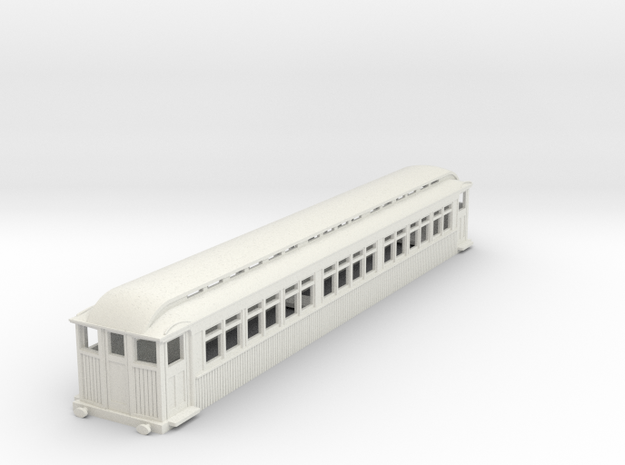 0-76-mersey-railway-1903-trailer-coach-1 in White Natural Versatile Plastic