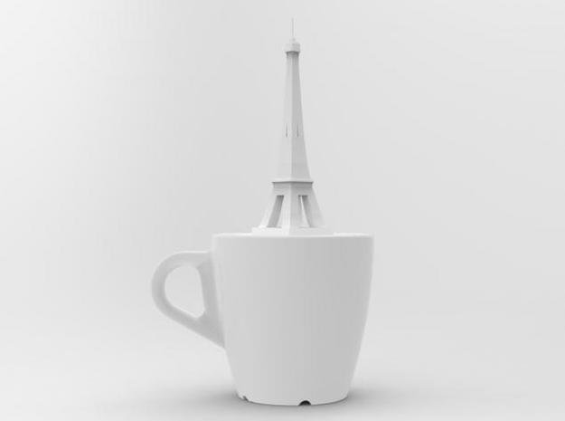 one cup a day | Day 29: French Coffee Cup 3d printed front