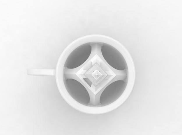 one cup a day | Day 29: French Coffee Cup 3d printed top