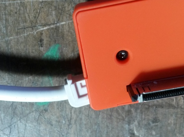 GoPro HERO 3+ 3D System: Wider Lens Separation  3d printed Twist the cable like shown, then tighten the screws again