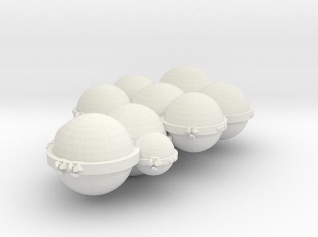 3125 Scale Koligahr Dreadnought (DN) MGL in White Natural Versatile Plastic