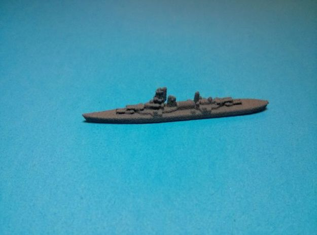 Hipper class CA x3 1/4000 3d printed Painted in dark grey base coat. Models sold unpainted.