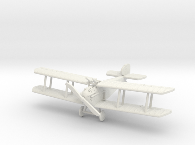 "Sopwith Dolphin ""Two Lewis"" 1:144th Scale in White Strong & Flexible"