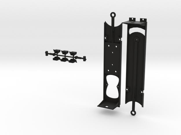 HO LA Metro P3010 Floor Kit in Black Natural Versatile Plastic