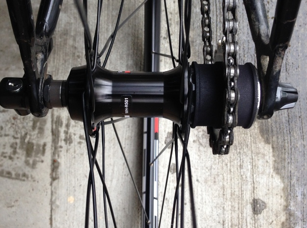 Single Speed Centre in Black Natural Versatile Plastic