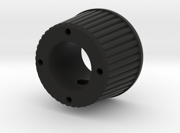 Shooter Rod Knob - Volume-part B in Black Natural Versatile Plastic