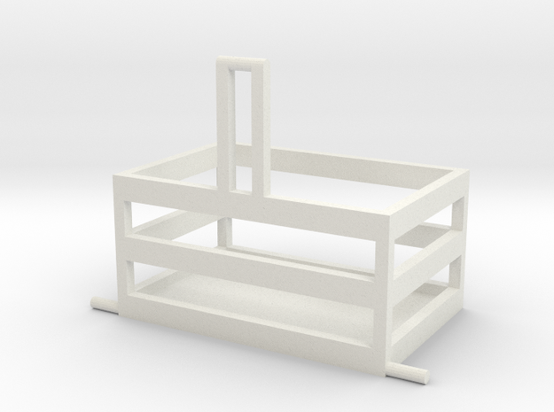Front box 3 point 1/32 in White Natural Versatile Plastic