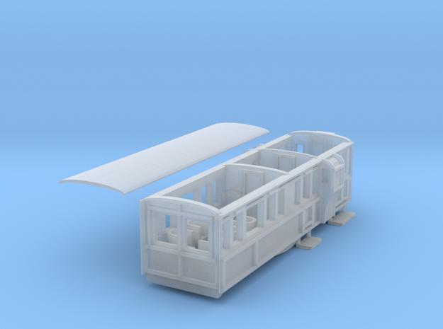 Ffestiniog Rly Observation Brake First coach NO.11 in Smooth Fine Detail Plastic