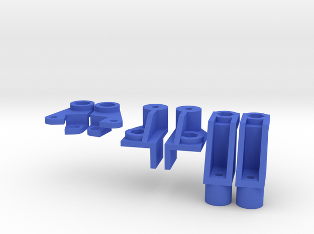 Galaxy Frame Mount Set in Blue Strong & Flexible Polished