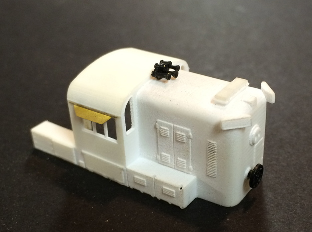 N scale Western Maryland hammerhead RS3 3d printed