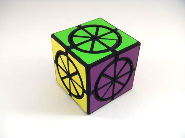 Circle X 2x2x2 Cube in White Strong & Flexible