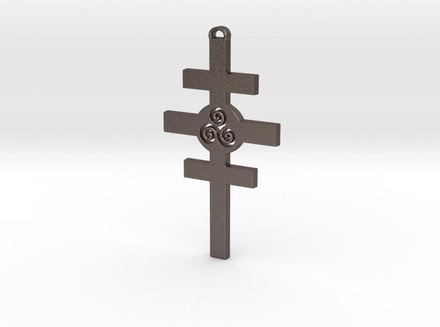 Celtic Cross of Damcar in Stainless Steel