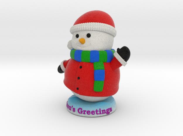Snowman_Greets