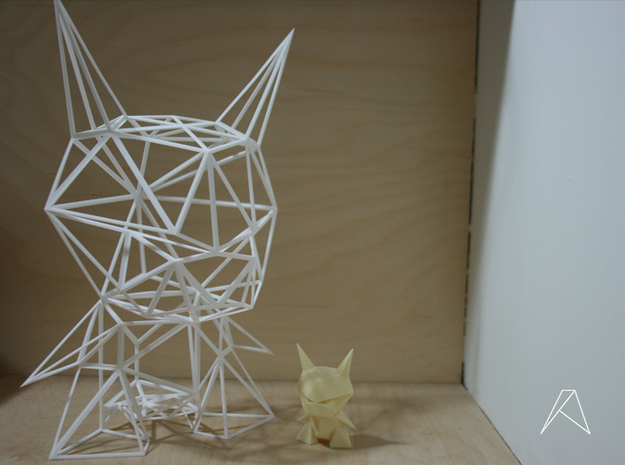 Evil Origami - 12inch - Wired in White Natural Versatile Plastic