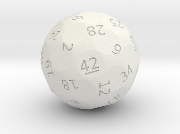"d42 ""Dice, the Universe, and Everything"""
