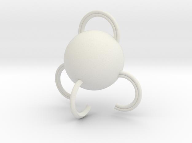 Portable hook in White Strong & Flexible: Medium