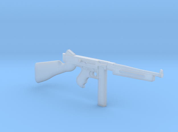 Thompson M1A1 30rds (1:18 Scale) in Frosted Ultra Detail: 1:18