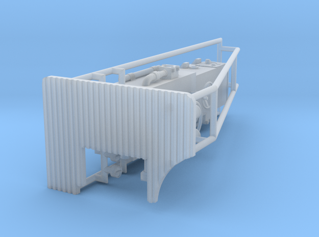 Torpedozielsäule 1 zu 24 in Smooth Fine Detail Plastic