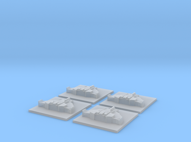destructor mobula x4 in Smooth Fine Detail Plastic