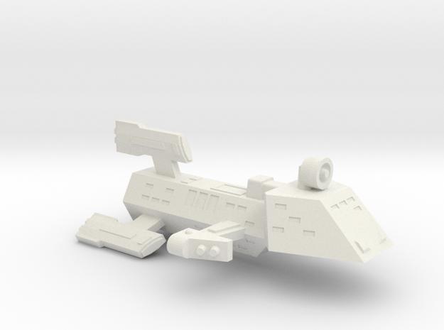 3125 Scale Kzinti FFK Frigate (C-9 Refit) SRZ in White Strong & Flexible