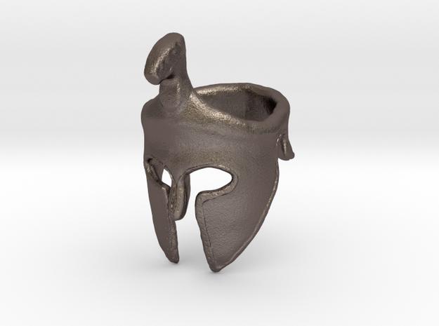 Spartan Helmet Ring in Stainless Steel: 9 / 59