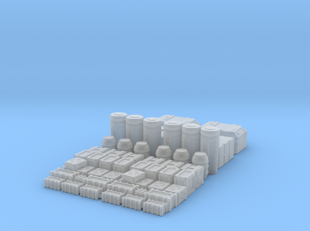 1:160 SW Container Set  in Smooth Fine Detail Plastic