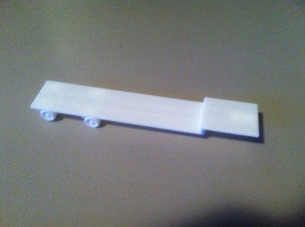 1:160/N-Scale Flatbed Trailer 3d printed Add a caption...