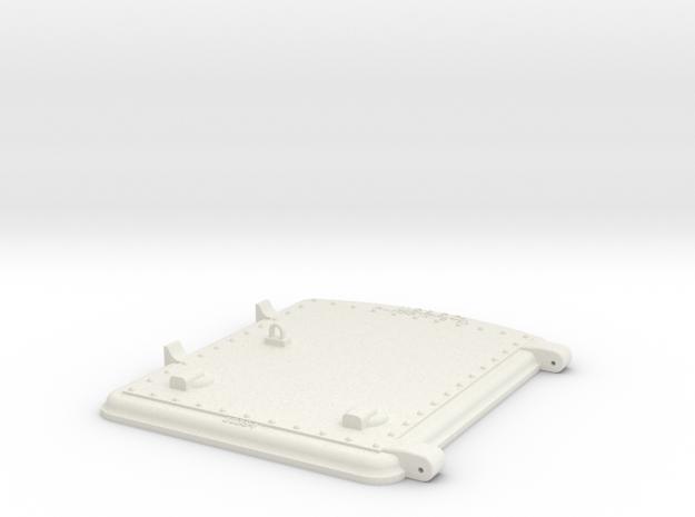 US&S box door top in White Natural Versatile Plastic