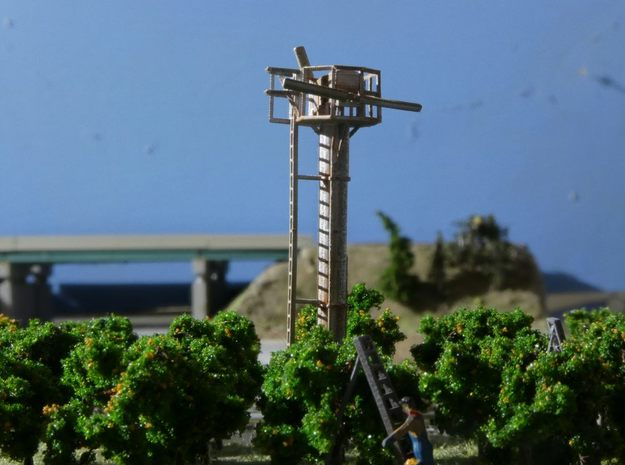 N Scale Tropic Breeze Orchard Wind Generator in Smooth Fine Detail Plastic