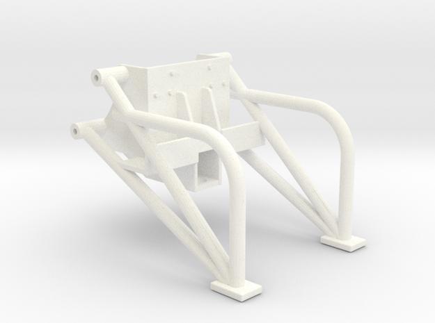 Universal Wheelie Bars2 in White Processed Versatile Plastic