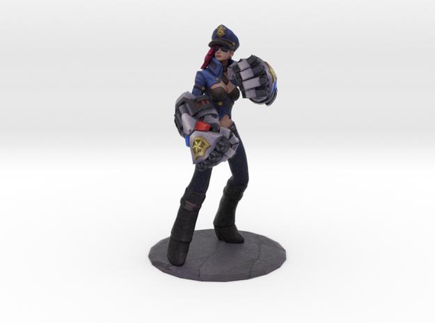 Officer Vi in Full Color Sandstone