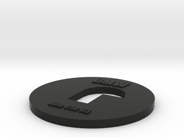 Clay Extruder Die: Rim 010 03 in Black Natural Versatile Plastic