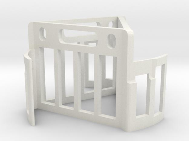 Oddy Test Hanger - triangular in White Natural Versatile Plastic