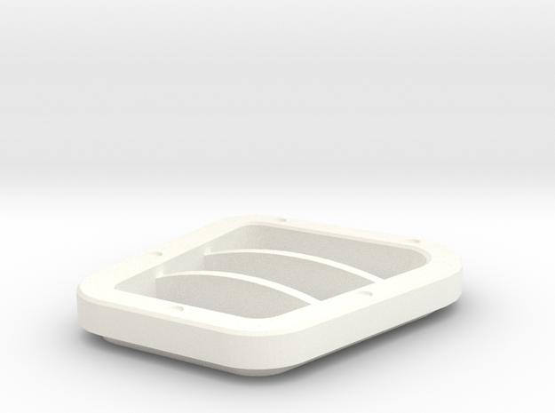 KBX Sport side intake D90 D110 TRC in White Processed Versatile Plastic