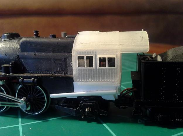 N Scale Pennsylvania H9/E6/G5 Cab in Smooth Fine Detail Plastic