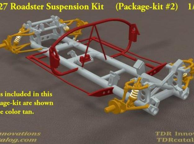 TDR 427 Roadster Suspension Kit 3d printed Screen 1