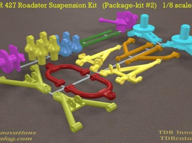 TDR 427 Roadster Suspension Kit 3d printed new pic