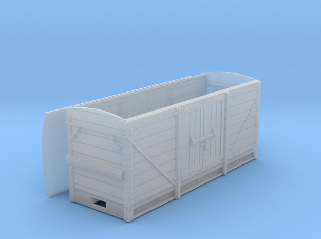 RAR powder van in Smooth Fine Detail Plastic: 1:43.5