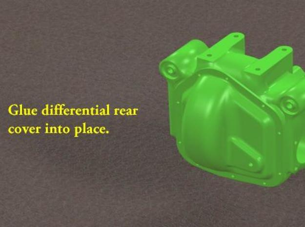 TDR 427 Roadster Rear Differential Kit 3d printed Description