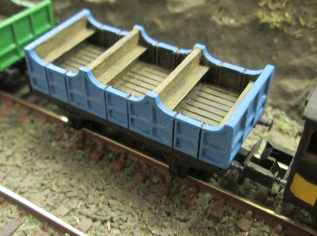 N Gauge Liverpool & Manchester Railway 2nd Coach  in Smooth Fine Detail Plastic