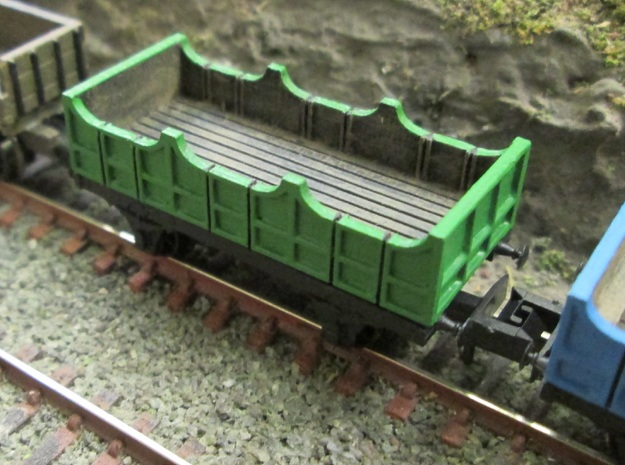 N Gauge Liverpool & Manchester Railway 3rd Coach  in Smooth Fine Detail Plastic