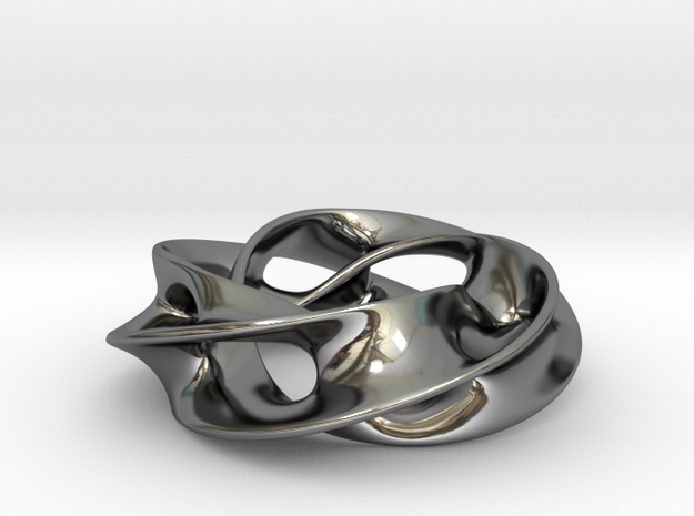 First Among Equals in Fine Detail Polished Silver