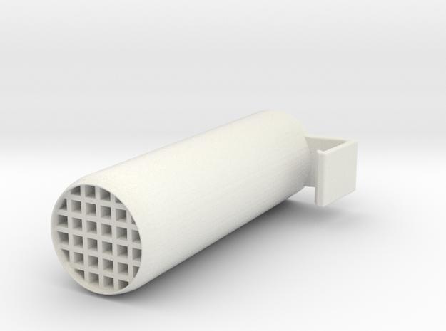 Toothbrush Holder in White Natural Versatile Plastic