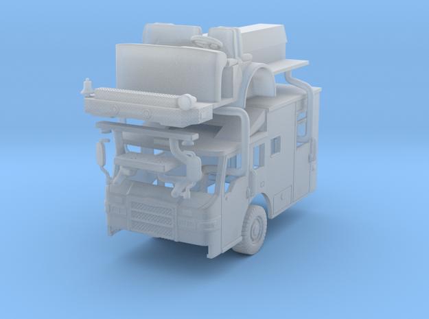 1/160 Pierce Velocity Medic Transport cab in Smooth Fine Detail Plastic