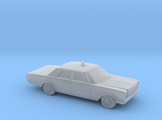 1/220 1966 Ford Galaxie 500 Sedan Emergency in Smooth Fine Detail Plastic