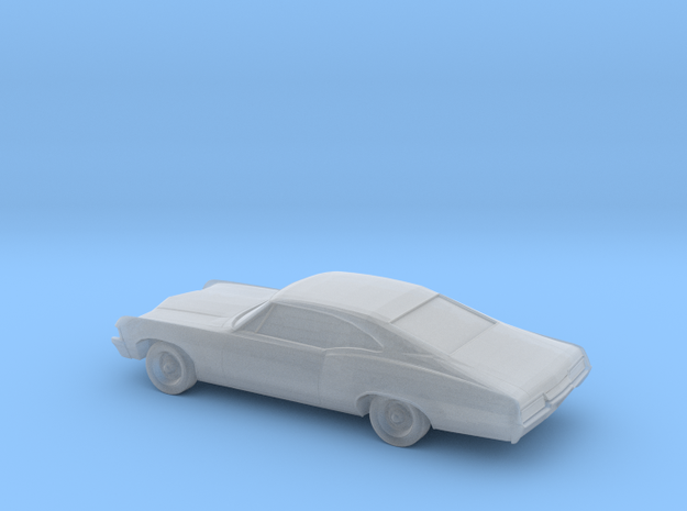 1/220 1967 Chevrolet Impala Coupe in Smooth Fine Detail Plastic